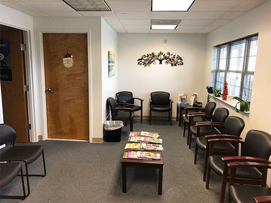 Podiatry Edison NJ Waiting Chairs